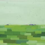 Green Land Poster by Yangyang Pan