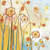 Orange Whimsy Prints by Jennifer Lommers