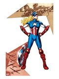 Captain America Corps No.4: American Dream Standing Posters by Phil Jimenez