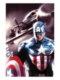 Captain America No.609 Cover: Captain America Prints by Marko Djurdjevic
