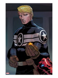 Avengers No.12: Steve Rogers Art by John Romita Jr.