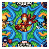 Marvel Super Hero Squad: Wolverine, Iron Man, and Captain America Posing Prints