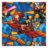 Marvel Super Hero Squad: Cyclops, Iron Man, Wolverine, Thor, and Falcon Posing Posters