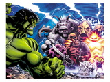 Hulk 30: Hulk Fighting Prints by Ed McGuiness