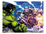 Hulk No.30: Hulk Fighting Prints by Ed McGuinness