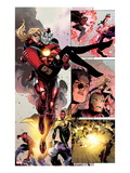 Avengers: The Childrens Crusade 5: Panels with Iron Lad and Stature Prints by Jim Cheung