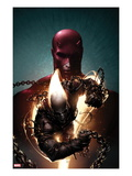Shadowland: Ghost Rider 1 Cover: Ghost Rider and Daredevil Posing Posters by Clayton Crain