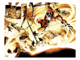Fear Itself 6: Iron Man Flying Posters by Stuart Immonen