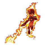 Marvel Super Hero Squad: Human Torch Flaming Posters