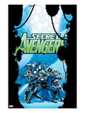 Secret Avengers No.21 Cover: Steve Rogers, Sharon Carter, Valkyrie, Moon Knight, and Others Prints by John Cassaday