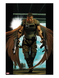 Ultimate Comics Ultimates No.7 Cover: Falcon Walking Prints by Kaare Andrews