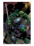 Incredible Hulks 624: Hulk with a Sword Posters by Dale Eaglesham