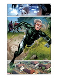 Avengers: The Childrens Crusade 2: Panels with Speed Running Posters by Jim Cheung