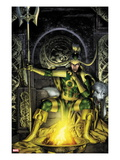 Thor: First Thunder No.2 Cover: Loki Sitting Poster by Jay Anacleto