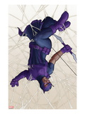 Avengers: Solo No.2 Cover: Hawkeye Caught in a Web Prints by John Tyler Christopher