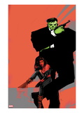 Incredible Hulks No.626 Cover: Hulk and Red She-Hulk Poster by  Jock