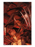 Daken: Dark Wolverine No.9.1: Daken and Wolverine Poster by Ron Garney