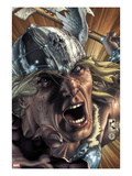 Thor: For Asgard No.3 Cover: Thor Screaming Art by Simone Bianchi