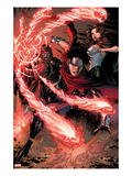 Avengers: The Childrens Crusade 4: Wiccan, Scarlet Witch, and Dr. Doom Prints by Jim Cheung