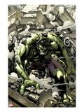 Incredible Hulks No.621 Cover: Hulk Smashing Prints by Carlo Pagulayan