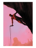 Daredevil: Reborn 3 Cover: Daredevil Climbing Prints by  Jock