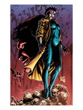 X-Men 24 Cover: Jubilee Standing on Skeletons Prints by Will Conrad