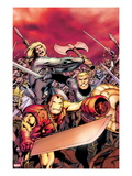 Avengers Prime 5 Cover: Iron Man, Thor, and Steve Rogers Charging Prints by Alan Davis