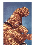 Fantastic Four 601 Cover: Thing with his Fist at the Ready Posters by Mike Choi