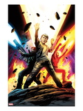 Fantastic Four No.587: Franklin Richards, Human Torch, and Ben Grimm Prints by Steve Epting