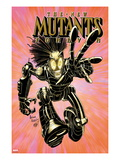 New Mutants Forever 2 Cover: Warlock Charging Poster par Arthur Adams