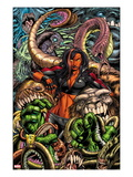 Incredible Hulks 630 Cover: Red She-Hulk Prints by Paul Pelletier