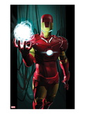 Ultimate Comics Ultimates No.3 Cover: Iron Man with Energy Posters by Kaare Andrews