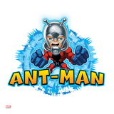 Marvel Super Hero Squad Badge: Ant-Man Posing Prints