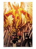 Incredible Hulks No.634: Fin Fang Foom Flying Prints by Paul Pelletier