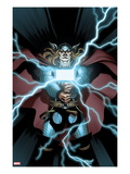Astonishing Thor 2 Cover: Thor Holding Mjonir Prints by Ed McGuiness