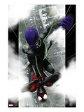 Ultimate Comics Spider-Man 10 Cover: Spider-Man and Prowler Fighting Posters by Kaare Andrews