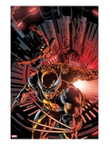 New Avengers No.11 Cover: Wolverine, Spider-Man, and Thing Posters by Mike Deodato