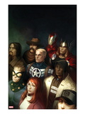 Fear Itself: The Home Front No.1 Cover: Steve Rogers, Thor, and Iron Man Posters by Marko Djurdjevic