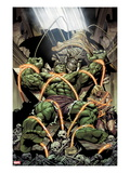 Incredible Hulks 624: Miek has Trapped Hulk and Kazar Posters by Dale Eaglesham
