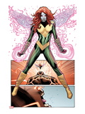 Uncanny X-Men No.541: Hope Summers over Panels with the Juggernaut Screaming Posters by Greg Land