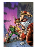 Herc 6.1 Cover: Hercules Standing to Fight Poster par Carlo Pagulayan