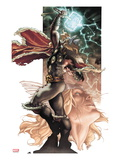 Thor: For Asgard No.3: Thor Posing Prints by Simone Bianchi