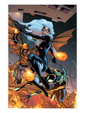 The Amazing Spider-Man No.651 Cover: Black Cat, Spider-Man, and Hobgoblin Prints by Humberto Ramos