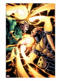 Shadowland: Power-Man No.4: Iron Fist and Power Man Fighting Posters by Mahmud A. Asrar