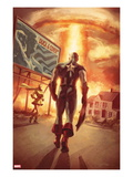 Captain America: Patriot No.4 Cover: Captain America Walking Poster by Mitchell Breitweiser