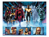 The Thanos Imperative 3: Quasar, Beta-Ray Bill, Gladiator, Nova, Silver Surfer, Ronan the Accuser Prints by Miguel Angel Sepulveda