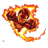 Marvel Super Hero Squad: Human Torch Flying Prints