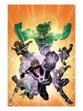 X-Factor No.233 Cover: Havok, Polaris, Longshot, Shatterstar, Siryn, and M Poster by David Yardin