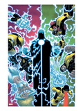 X-Men No.12 Cover: Wolverine, Moon Knight, Cyclops, Archangel, Jean Grey, and Emma Frost Prints by Ed McGuinness