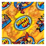 Marvel Super Hero Squad: Hero Up! Captain America, Thor, Iron Man, Hulk, and Ms. Marvel Posing Poster